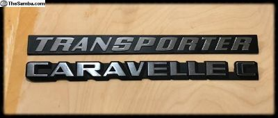 TRANSPORTER rear badge for sale or trade