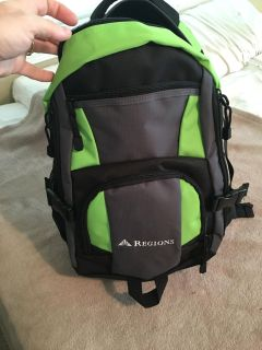 New backpack - can hold laptop