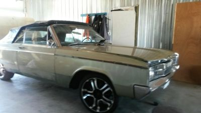 1967 2D Dodge Polara Convertible, must sale