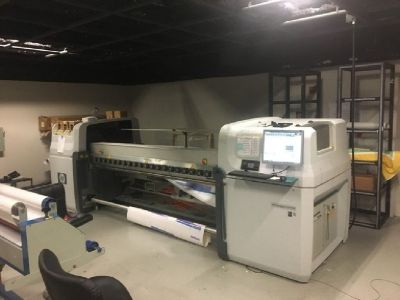 2010 HP Designjet L65500 Latex Printer RTR# 8093506-01