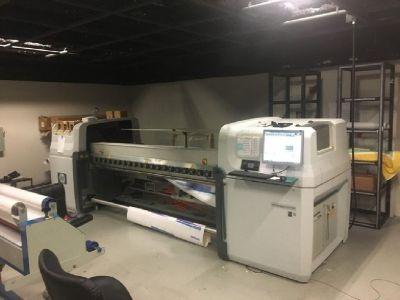 2010 HP Designjet L65500 Latex Printer RTR# 8093506-01