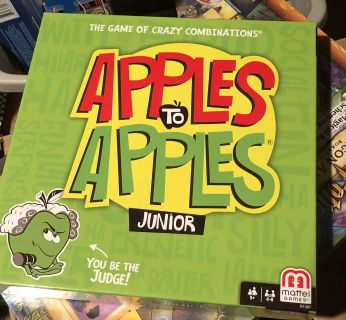 NEW APPLES TO APPLES JUNIOR GAME