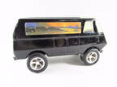 Vintage Tonka 70's Custom Van Black Metal