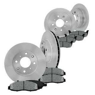 Buy Front and Rear Brake Rotors & Metallic Pads 2005 2006 2007 FORD FOCUS (NOT SVT) motorcycle in Orland Park, Illinois, United States, for US $102.19