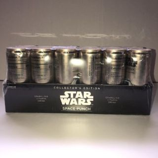 NEW Star Wars Space Punch Sparkling Vitamin Drink Collectors Edition R2-D2 Case Pack