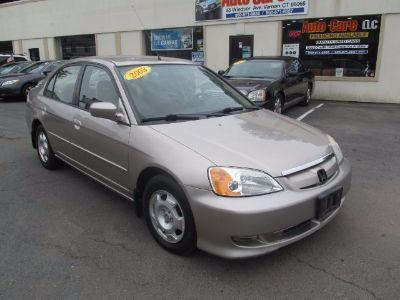 2003 Honda Civic Hybrid Hybrid (tan)