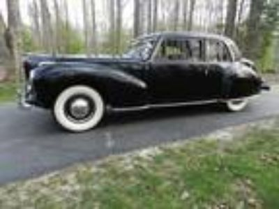 1941 Lincoln Continental Coupe V-12