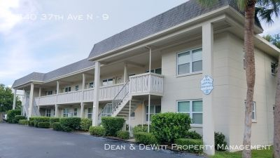 Second floor 1 BR in West St Pete w/In Unit Laundry Hookups - Affordable Rent