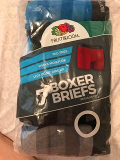 Fruit of the Loom boys boxer briefs new! Medium 10-12 - pack of 7