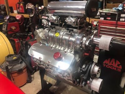 468 Big Block Chevy Blower Motor