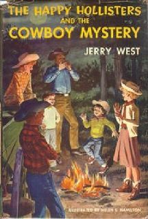 $14 The Happy Hollisters and the Cowboy Mystery 1st edition