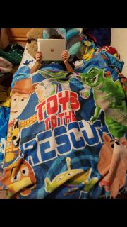 Toy Story twin bed blanket