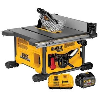 "Dewalt 60 max 8 1/4 table saw kit w/ 24"" rip capacity"