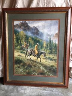 High country cowboy's art
