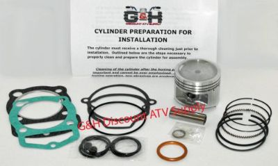 Find Honda 185 185S ATC Big Bore Engine Motor Top Rebuild Kit & Cylinder Machining motorcycle in Somerville, Tennessee, United States, for US $155.95