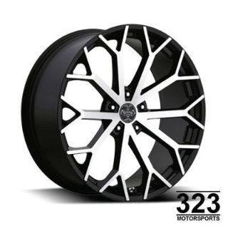 "Find 22"" INCH WHEELS TIRES RIMS 5X115 VERSANTE 229 CHRYSLER 300 2009 2010 2011 BLK MF motorcycle in Los Angeles, California, US, for US $1,489.00"
