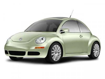 2008 Volkswagen New Beetle 2.5 PZEV (Yellow)