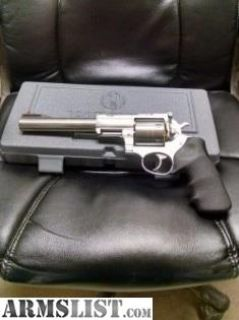 For Sale: NEW RUGER SUPER REDHAWK .454 CASULL SS 7.5 5505
