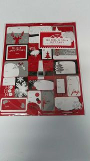 New peel and stick gift tags