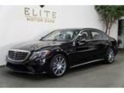 Used 2015 Mercedes-Benz S-Class Obsidian Black Metallic, 23K miles