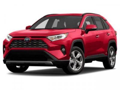 2019 Toyota RAV4 Hybrid Limited (Blizzard Pearl)