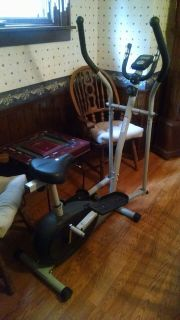 """New"" Elliptical Bike and Trainer"