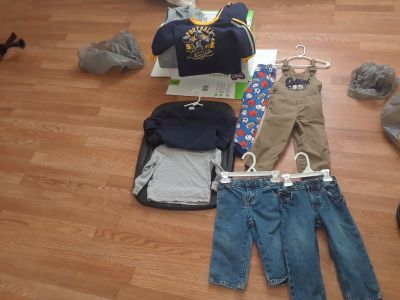 Boys Winter Lot sizes 24 months-2t they honestly all fit the same . $3 takes All priced to sell.