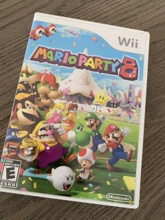 Nintendo Mario Party 8 for the Wii