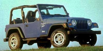 1998 Jeep Wrangler SE (ORANGE)