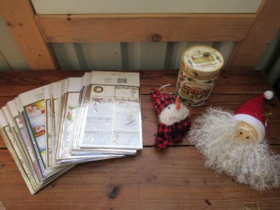 100's of Tags, Music Box Tin, (2) Ornaments