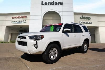 2016 Toyota 4Runner Limited (Blizzard Pearl)
