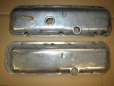 Purchase 1969 BIG BLOCK CHEVY CHROME DRIPPER VALVE COVERS 396 454 BBC motorcycle in Des Moines, Iowa, United States, for US $150.00