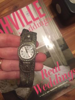 Fossil silver/gray watch