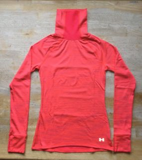 Under Armour Fitted AllSeason Gear Women s Long Sleeve Shirt Size Medium