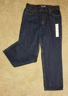 Boys sz 10 Relaxed Straight Jeans NEW