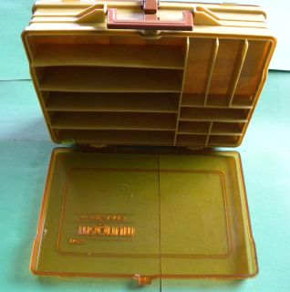 Plano Magnum #1122 Double Sided Fishing Tackle Box.