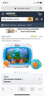 Baby Einstein crib toy