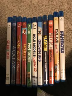 Movie collection 11 total