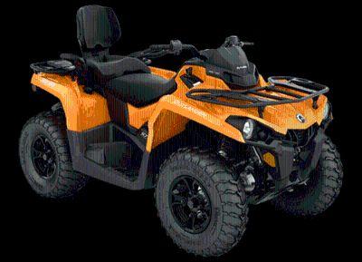 2018 Can-Am Outlander MAX DPS 570 Utility ATVs Castaic, CA