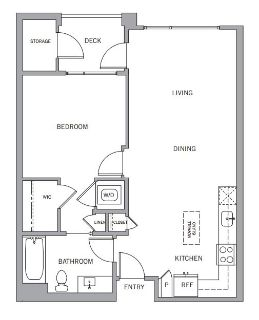 $7980 1 apartment in Mountain View
