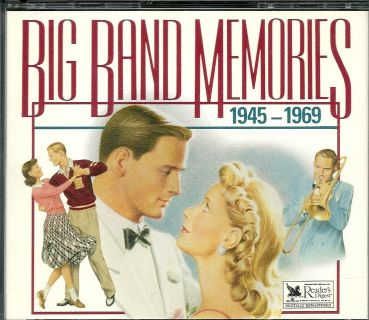 "Collectors Readers Digest""Big Band Memories 1945-1969"" 4-cd set with booklet"