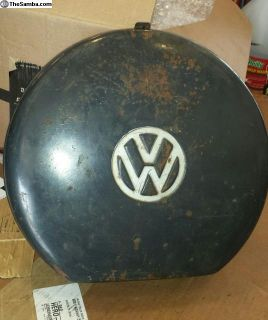 Original Vintage VW Tool Box - Some Tools Included