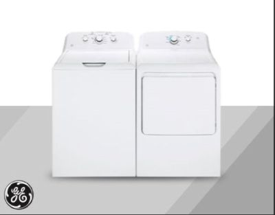 New GE washer and dryer