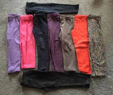 Girls 3t leggings/jeans, all 14 pairs for $20.00, cross posted. Located in Bethlehem.