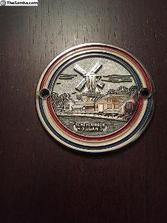Vintage Holland Badge Car Emblem