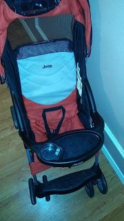 Gently Used Jeep Stroller