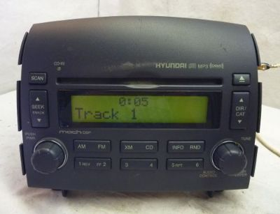 Find 06 07 08 Hyundai Sonata Factory OEM Radio Cd Mp3 XM 96180-0A600FZ CF4910 motorcycle in Williamson, Georgia, United States, for US $100.00