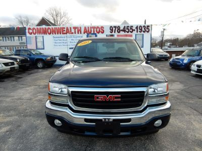2005 GMC Sierra 1500 Work Truck (Deep Blue Metallic)