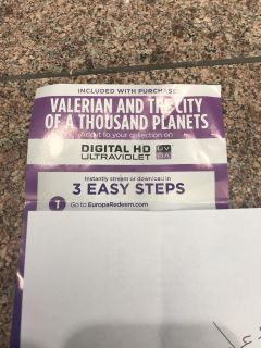 Valerian and the city of a thousand planets digital download