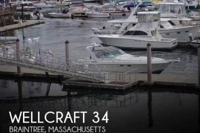 1990 Wellcraft 3400 Gran Sport